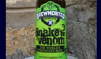 Brewmeister Snake Venom Tops the Charts as World's Strongest Beer