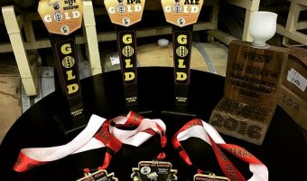 Adelbert's Brewery Wins Three Awards at Best Little Brewfest in Texas