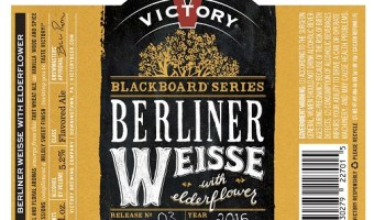 Chalk it up on the Blackboard: Berliner Weisse with Elderflower is here