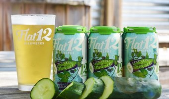 Flat12 Bierwerks Relieves the Summer Heat with Cucumber Kolsch