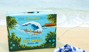 Get Your Hawaii on with Big Wave Golden Ale in 12 Packs of Cans