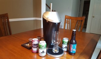 Tap Your Own Draft Beer at Home with Fizzics