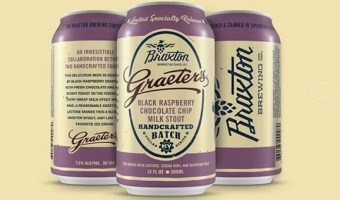 Ice Cream and Beer Collide with Black Raspberry Chocolate Chip Milk Stout