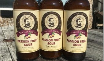 Passion Fruit Sour: Adelbert's Newest Beer Arrives in the Taproom