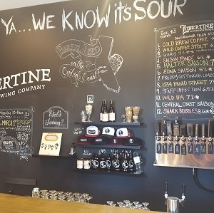 Get Your Sour Beer Fix at Libertine Brewing
