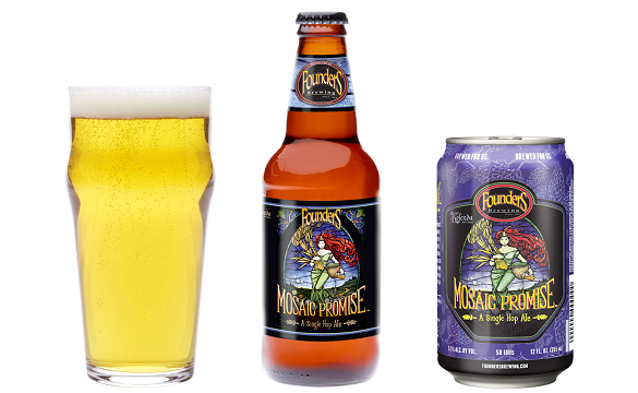 Founders Mosaic Promise IPA is Back and Now in 15 Can Packs