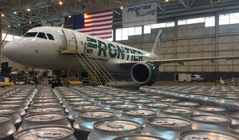 Oskar Blues and Frontier Airlines Team up to Aid Puerto Rico