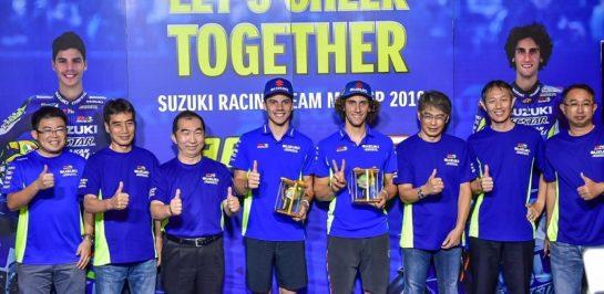 แฟนคลับ ซูซูกิ ร่วมสัมผัสบรรยากาศสุดเอ็กซ์คลูซีฟต้อนรับ 2 นักแข่งโมโตจีพีใน Team Suzuki Ecstar Fan Club Party 2019