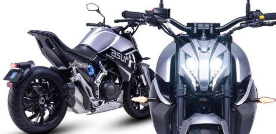 เจาะลึก New Benda ASURA 400cc 2 สูบ อาร์มเดี่ยว โช้กหัวกลับ ราคาประมาณ 119,000 บาท!!!
