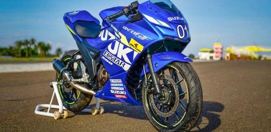 Suzuki เปิดตัว New GIXXER 250 SF เวอร์ชั่น MotoGP 2020 อย่างเป็นทางการ!