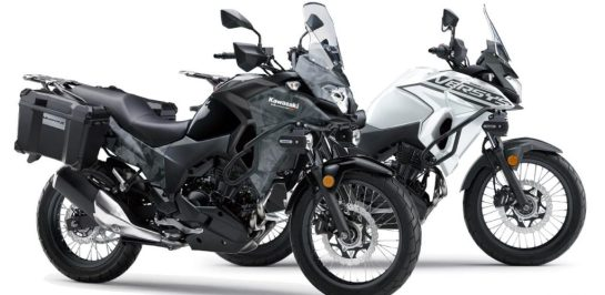 Kawasaki ประเทศญี่ปุ่น เปิดสีสันใหม่ของ Versys -X 250