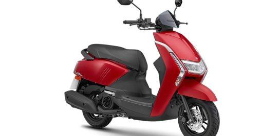 เปิดตัว 2020 Yamaha Limi สกู๊ตเตอร์ขนาด 125 ซีซี ในประเทศไต้หวัน