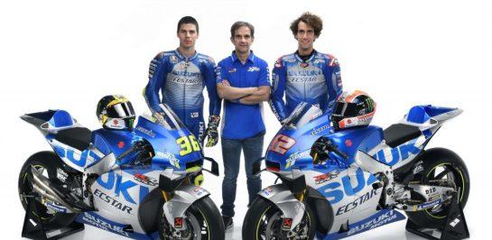 Ecstar Suzuki เปิดตัวทีมแข่ง MotoGP2020 อย่างเป็นทางการ