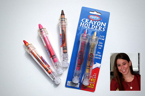 1. Cassidy Goldstein (Age 12) GÇô Crayon Holders