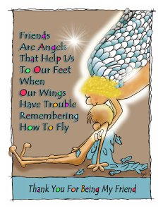 Friends Are Angels-new