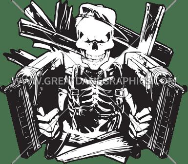 Nailgun Skeleton