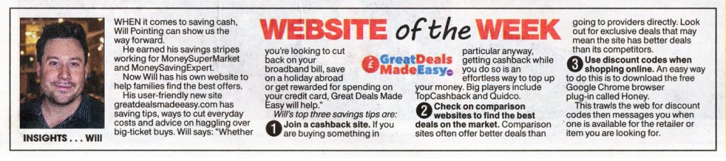 Press About Us Great Deals Made Easy
