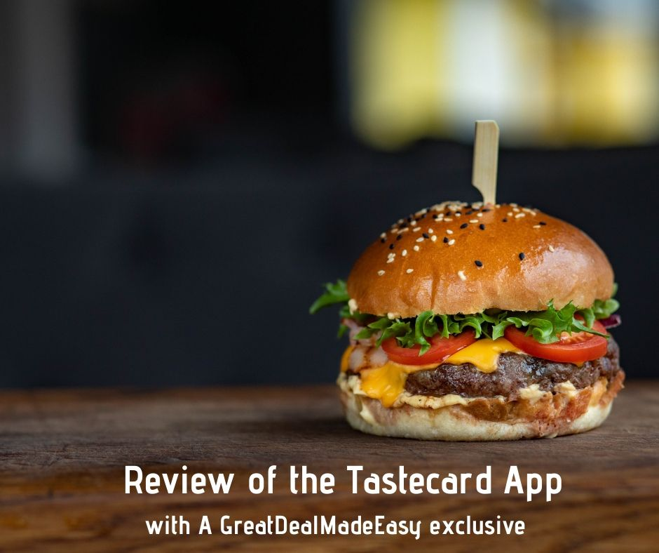 Review of the tastecard App