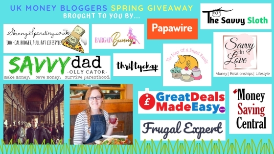 Spring Giveaway - Prize Draw with UK Money Bloggers