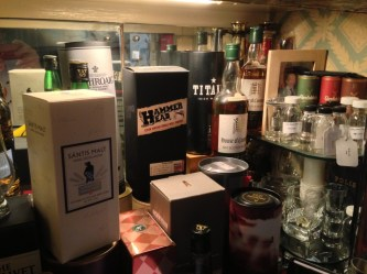 whisky cabinet