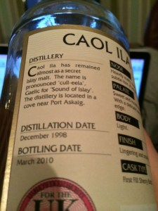Connoisseurs Choice Caol Ila 1998