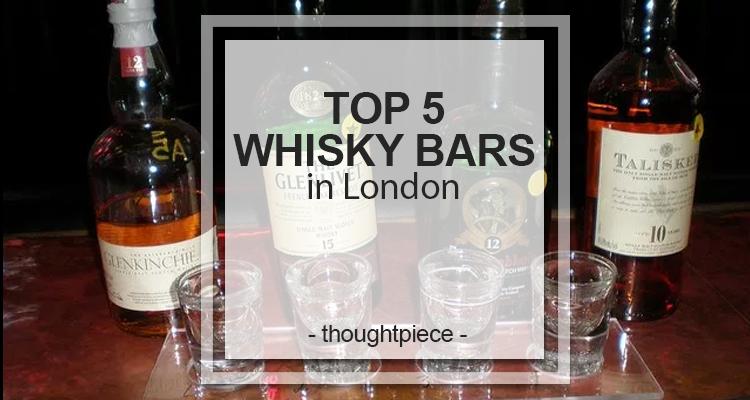 whisky bars