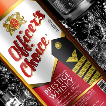 India's Officer's Choice becomes world's largest whisky brand