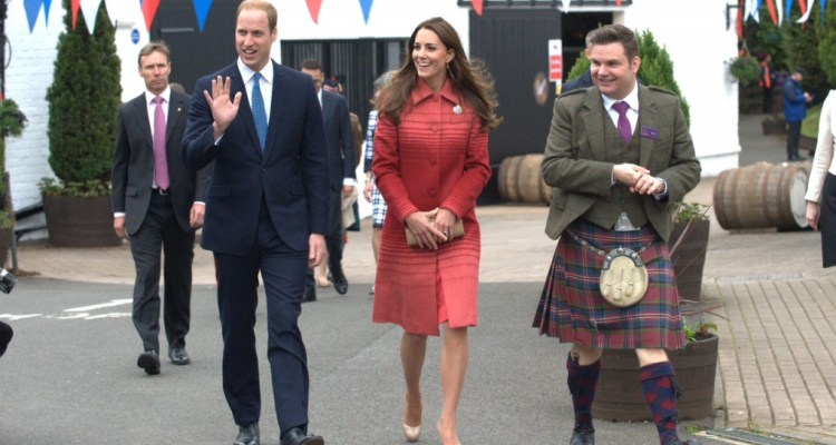 DUKE AND DUCHESS OF CAMBRIDGE OFFICIALLY RE-OPEN SCOTLAND'S OLDEST DISTILLERY – Scotch Whisky News