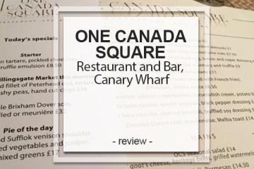 One Canada Square