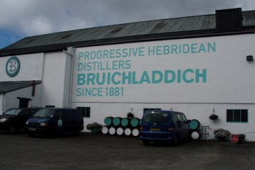 The Bruichladdich courtyard.
