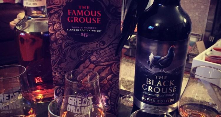 The Famous Grouse range