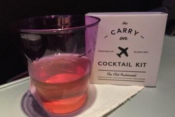 in flight cocktail kit