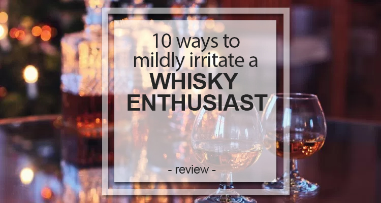 whisky enthusiast