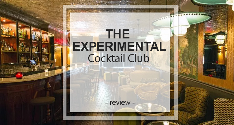 The Experimental Cocktail Club
