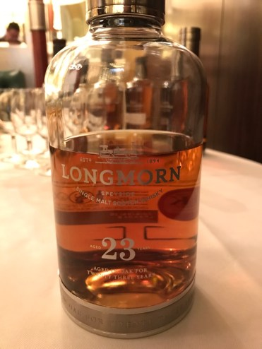 Longmorn single malt whisky