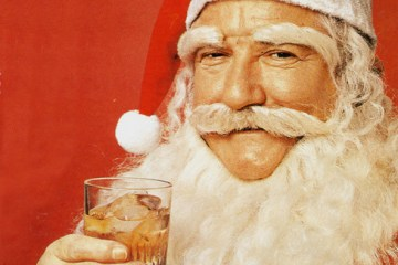 whisky-drinking-santa