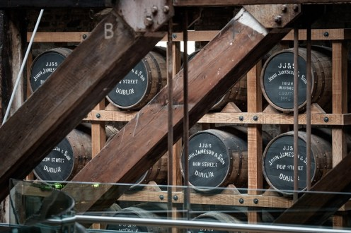 barrels-at-old-jameson-distillery-bow-street