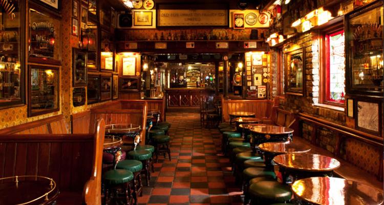 irish whiskey bars