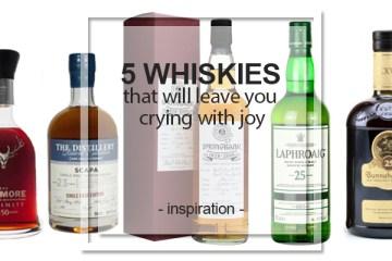 5 whiskies