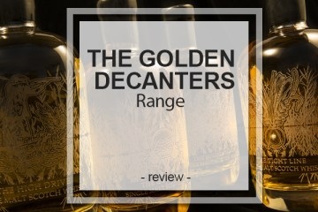 Golden Decanters