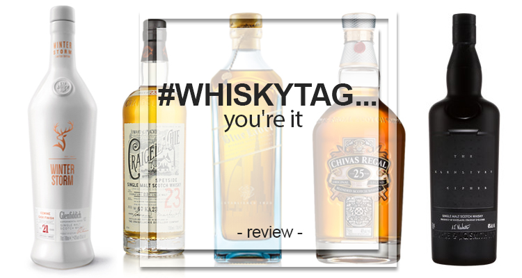 whisky tag