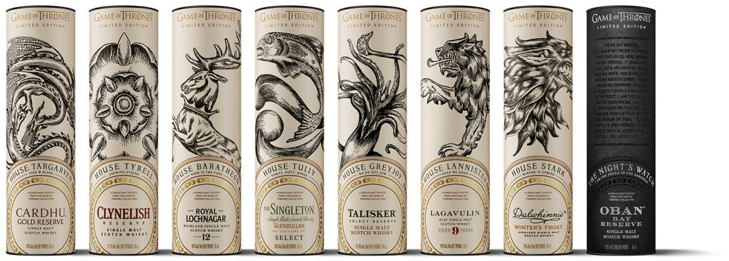 Game of Thrones Single Malt Scotch Whisky Collection Package Design21 2