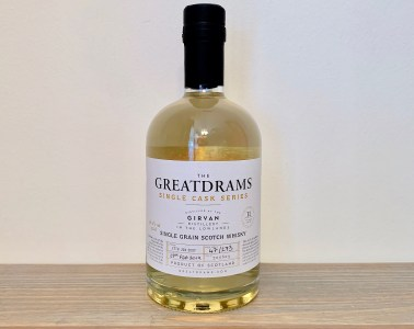 GreatDrams Girvan 11 Year Old Single Cask