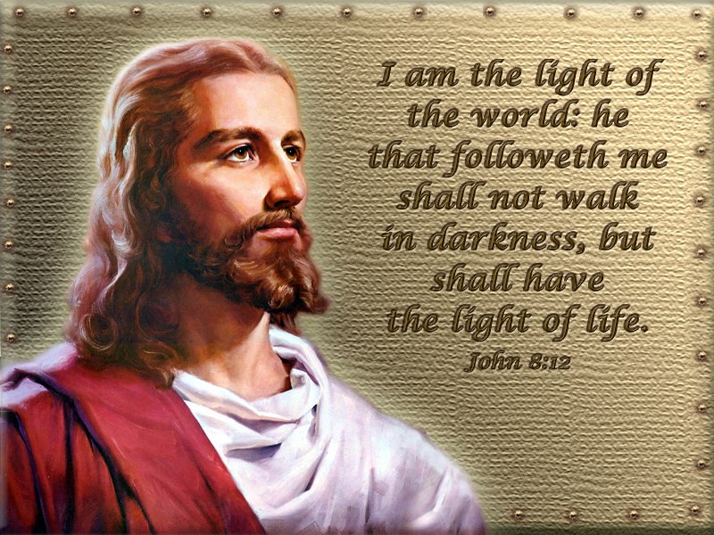 Image result for Jesus i am the light of the world