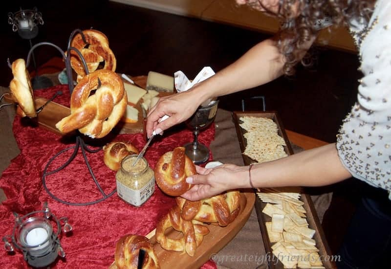 Soft Pretzels Renaissance-Table2