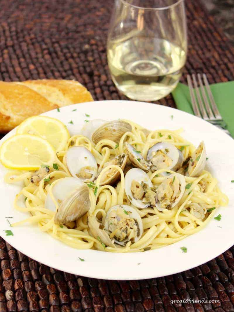 Bring this classic Italian pasta dish, Linguine with Clams, to your own dinner table with this simple and delicious recipe!