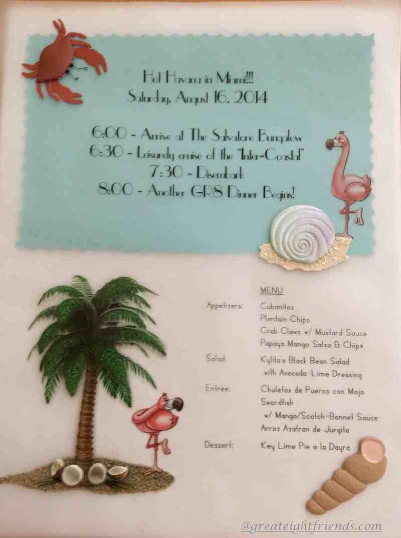 HOT HAVANA IN MIAMI Invite marked