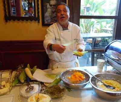 El Cholo Chef Demo