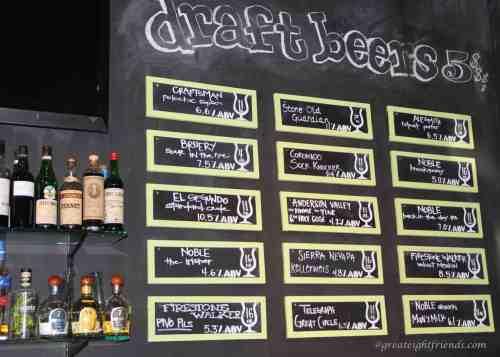 Playground-beer-list