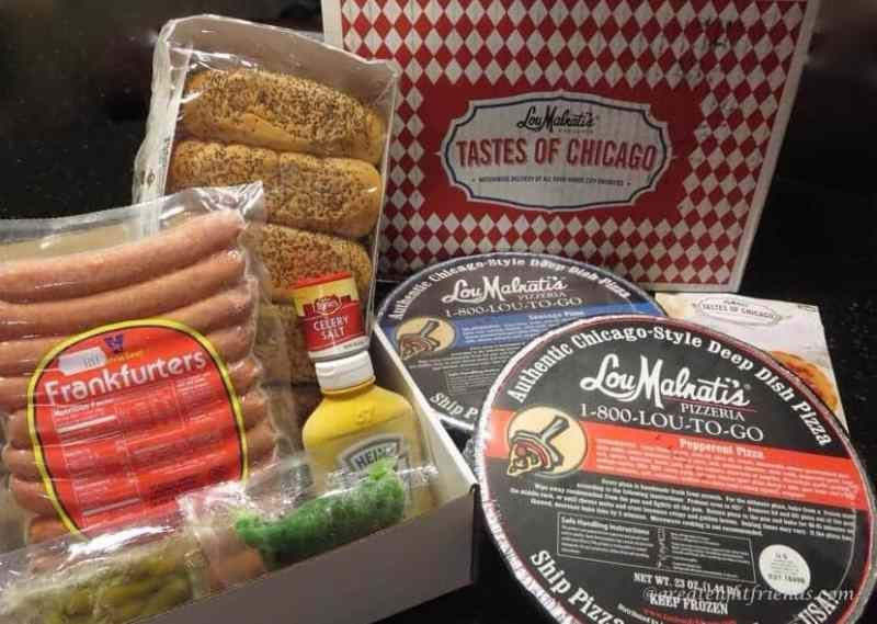 Chicago Dogs Dinner Party Hotdog-Lou-Malnatis